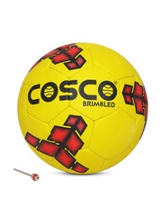 COSCO Unisex Yellow Brimbled Printed Football