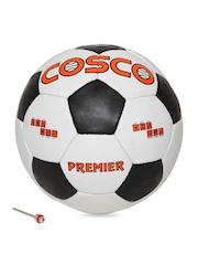 COSCO Kids White & Black Premier Printed Football