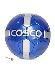 COSCO Unisex Blue Mexico Printed Football