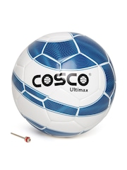 COSCO Unisex Blue & White Ultimax Printed Football