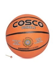 COSCO Unisex Orange Dribble Printed Basketball