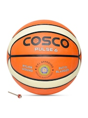 COSCO Unisex Orange Pulse Printed Basketball