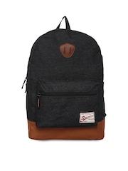 Impulse Unisex Black Backpack