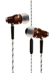 symphonized Grey & Brown NRG Printed In-Ear Earphones