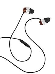 symphonized Black & Brown ALN In-Ear Earphones
