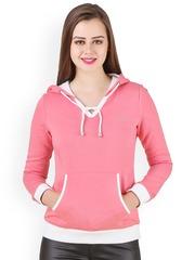 Texco Pink Hooded Sweatshirt