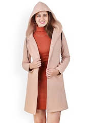Texco Biege Hooded Coat