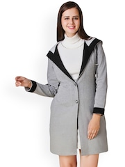 Texco Grey Hooded Coat
