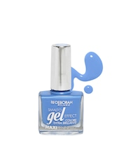Deborah Milano Smalto Gel Effect Swimming Blue Maxipennello Nail Polish 73