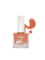 Deborah Milano Smalto Gel Effect Tangerine Orange Maxipennello Nail Polish 31