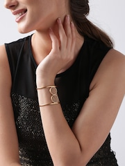 Dooi by Suhani Pittie Gold-Plated Khancha Handcrafted Cut-Out Cuff Bracelet