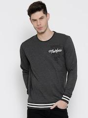 SPYKAR Charcoal Grey Sweatshirt