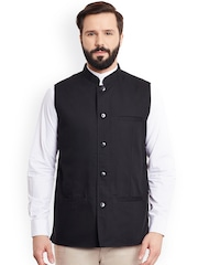 even Black Nehru Jacket