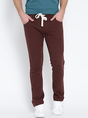 United Colors of Benetton Rust Brown Track Pants