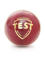 SG Maroon Test Waterproof Genuine Alumhide Leather Cricket Ball