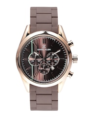 Daniel Klein Premium Men Bronze-Toned Dial Watch DK10977-4