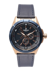 Daniel Klein Exclusive Men Navy Multifunction Analogue Watch DK11023