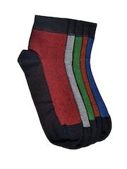 MARC Men Set of 5 Ankle-Length Socks