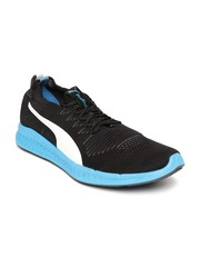 Puma Men Black IGNITE ProKnit Running Shoes
