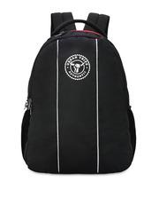 URBAN TRIBE Unisex Black Backpack