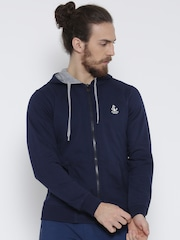 Fort Collins Navy Hooded Sweatshirt