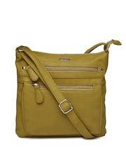 Lavie Olive Green Sling Bag
