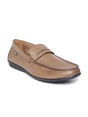 Lee Cooper Men Brown Genuine Leather Loafers