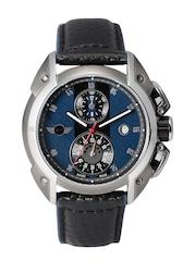 MINI Men Blue Chronograph Dial Watch MINI13