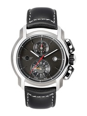 MINI Men Gunmetal-Toned Chronograph Dial Watch MINI32