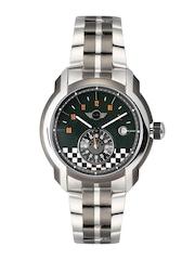 MINI Men Green Printed Dial Watch MINI49ES