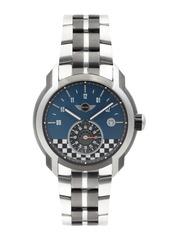 MINI Men Teal Blue Printed Dial Watch MINI51ES