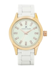 Daniel Klein Women Silver-Toned Analogue Watch DK10732-4