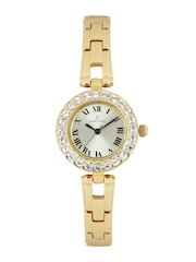 Daniel Klein Women Muted Gold-toned Dial Analogue Watch DK10882-3