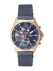 Daniel Klein Exclusive Men Blue Multifunction Dial Watch DK11122-7