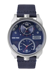 Daniel Klein Premium Men Blue Dual-Time Dial Watch DK11125-2