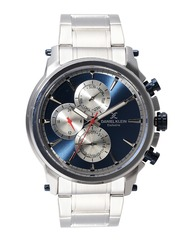 Daniel Klein Exclusive Men Blue Multifunction Dial Watch DK11203-6