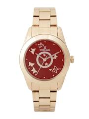 Daniel Klein Premium Women Red Dial Watch DK11222-7
