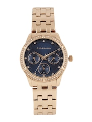 GIORDANO Women Navy Multifunction Analogue Watch 2768-44