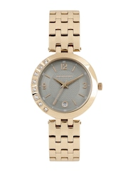 GIORDANO Women Grey Textured Analogue Watch 2775-44