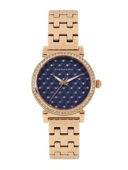 GIORDANO Women Navy Embellished Analogue Watch 2778-44