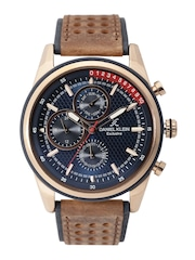 Daniel Klein Exclusive Men Navy Multifunction Dial Watch DK11129-4