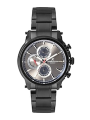 Daniel Klein Exclusive Men Gunmetal-Toned Multifunction Dial Watch DK11203-2