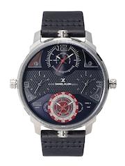 Daniel Klein Premium Men Gunmetal-Toned Multiple-Dial Watch DK11208-5