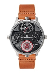Daniel Klein Premium Men Gunmetal-Toned Multiple-Dial Watch DK11208-7