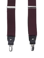 Alvaro Castagnino Men Purple Suspenders