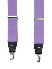Alvaro Castagnino Men Purple Suspenders