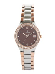 Dsigner Women Brown Dial Embellished Watch 721RTM.9.L