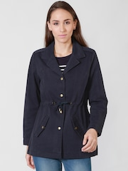 Allen Solly Blue Tailored Jacket