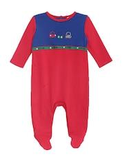 FS Mini Klub Infant Boys Blue & Red Sleepsuit