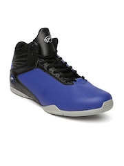 Boltio Men Blue Basketball Shoes